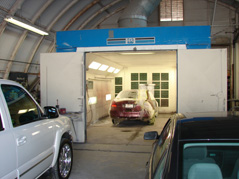 Brinks Heated Spray Booth